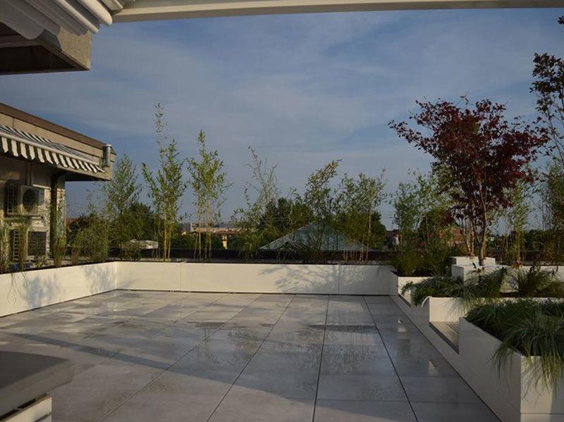 VANTO fioriere terrazzo privato