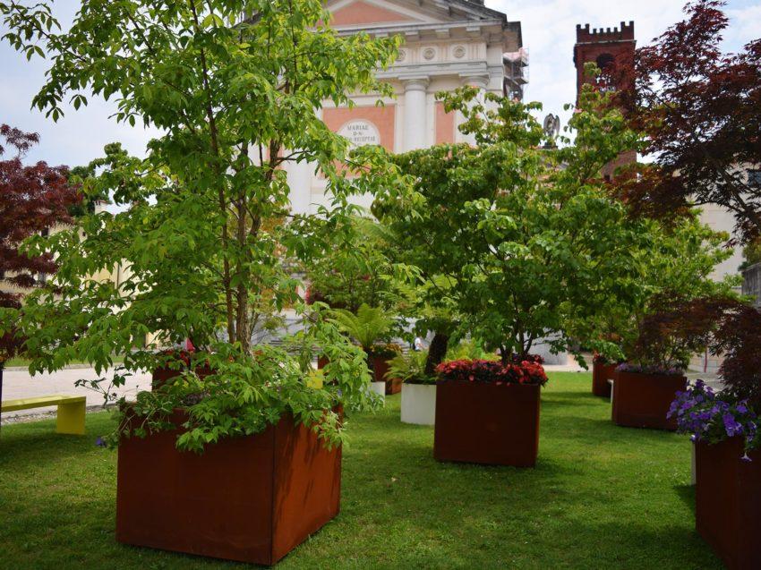 VANTO vasi da esterno di design per case e piazze