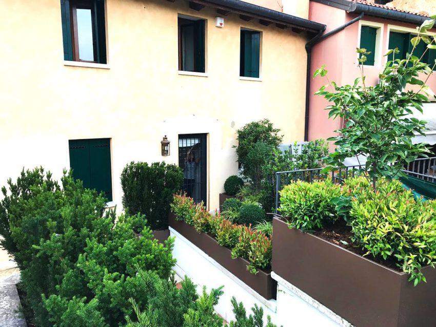 VANTO fioriere di design per giardini
